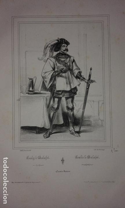 Libros antiguos: COLECCION DE GRABADOS DE ACHILLE DEVERIA - AÑO 1830 - EXCEPCIONAL. - Foto 6 - 166195642