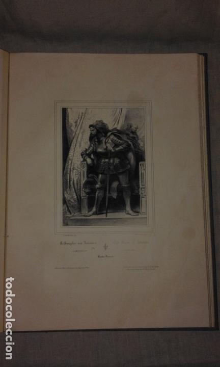 Libros antiguos: COLECCION DE GRABADOS DE ACHILLE DEVERIA - AÑO 1830 - EXCEPCIONAL. - Foto 7 - 166195642