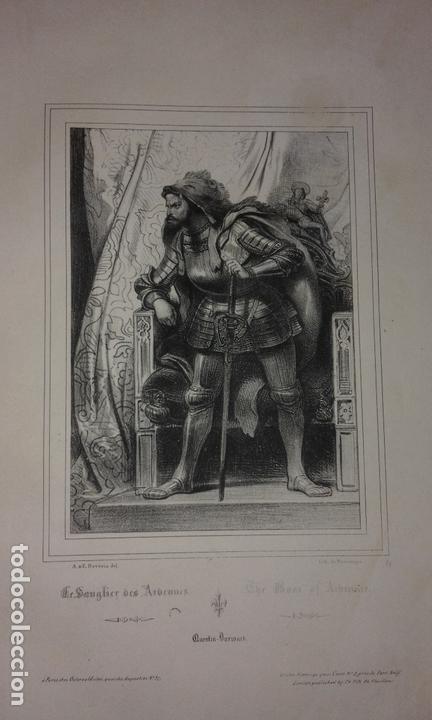 Libros antiguos: COLECCION DE GRABADOS DE ACHILLE DEVERIA - AÑO 1830 - EXCEPCIONAL. - Foto 8 - 166195642