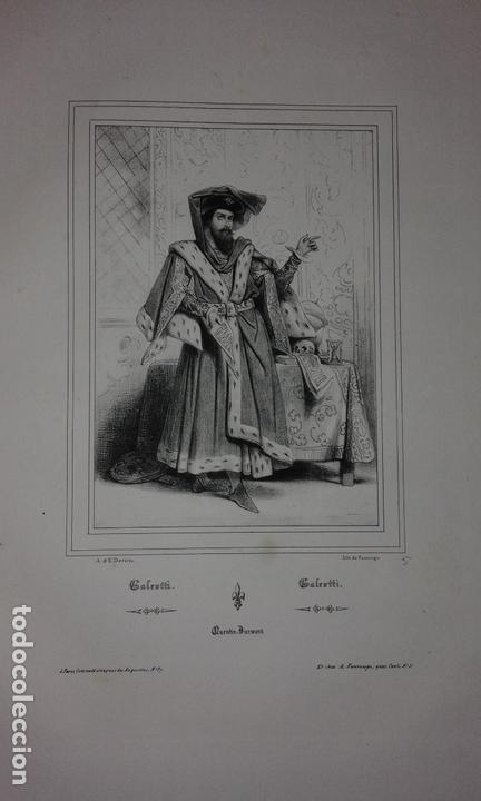 Libros antiguos: COLECCION DE GRABADOS DE ACHILLE DEVERIA - AÑO 1830 - EXCEPCIONAL. - Foto 10 - 166195642