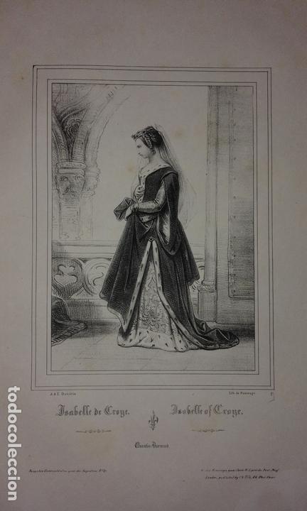 Libros antiguos: COLECCION DE GRABADOS DE ACHILLE DEVERIA - AÑO 1830 - EXCEPCIONAL. - Foto 12 - 166195642
