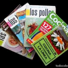 Libros antiguos: LIBROS DE RECETAS DE COCINA. Lote 166197482