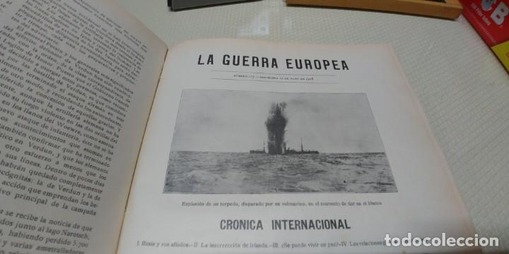 Libros antiguos: Precioso libro la guerra europea tomo v 1916 miren fotos - Foto 5 - 166211886