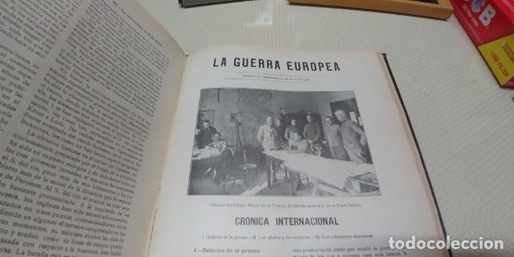 Libros antiguos: Precioso libro la guerra europea tomo v 1916 miren fotos - Foto 6 - 166211886