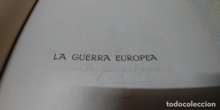 Libros antiguos: Precioso libro la guerra europea tomo v 1916 miren fotos - Foto 10 - 166211886