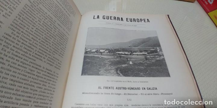 Libros antiguos: Precioso libro la guerra europea tomo v 1916 miren fotos - Foto 12 - 166211886