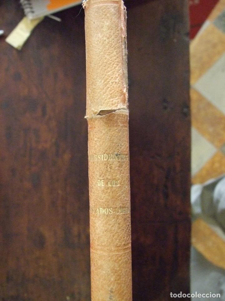 Libros antiguos: LOS PRESIDENTES DE LOS ESTADOS UNIDOS - VERNEUILL - MONTANER Y SIMON 1885 BARCELONA ILUSTRADA - Foto 2 - 166241786