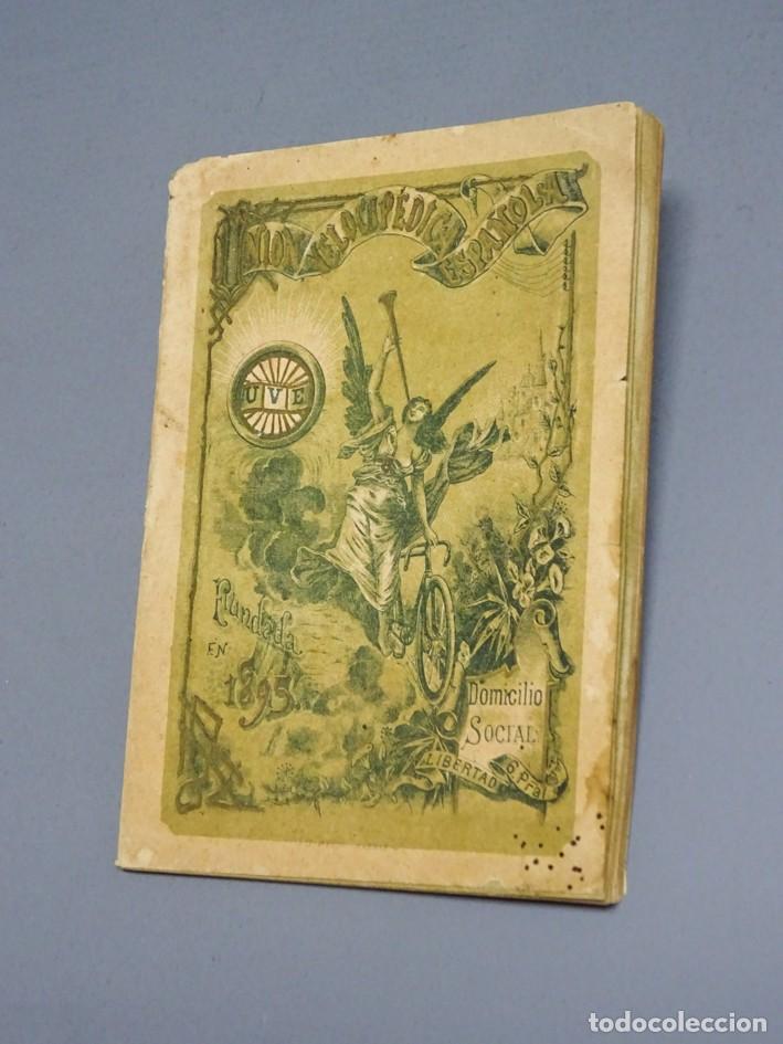 ESTATUTOS DE LA SOCIEDAD UNIÓN VELOCÉPICA ESPAÑOLA - FUNDADA EN 1895 (Libros Antiguos, Raros y Curiosos - Ciencias, Manuales y Oficios - Otros)