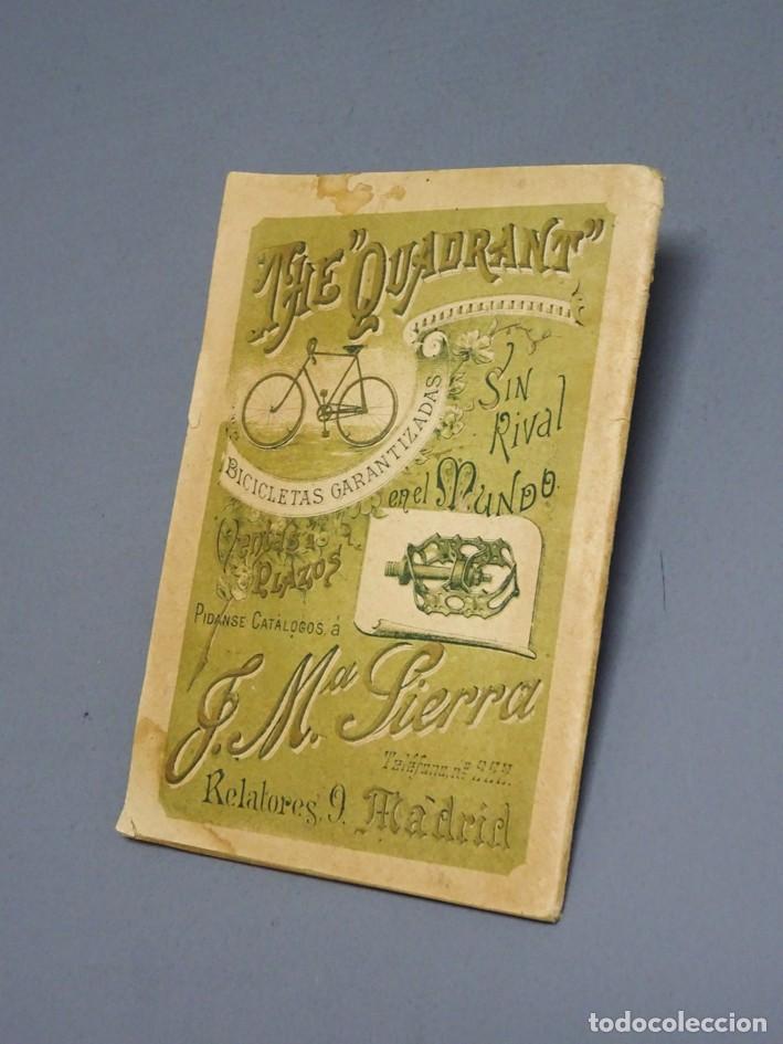 Libros antiguos: ESTATUTOS DE LA SOCIEDAD UNIÓN VELOCÉPICA ESPAÑOLA - FUNDADA EN 1895 - Foto 2 - 166256226