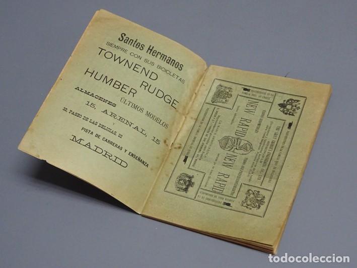 Libros antiguos: ESTATUTOS DE LA SOCIEDAD UNIÓN VELOCÉPICA ESPAÑOLA - FUNDADA EN 1895 - Foto 3 - 166256226