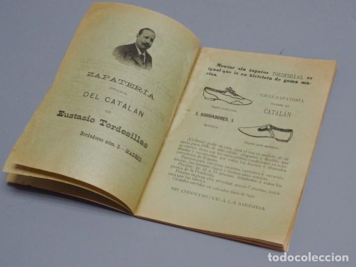Libros antiguos: ESTATUTOS DE LA SOCIEDAD UNIÓN VELOCÉPICA ESPAÑOLA - FUNDADA EN 1895 - Foto 5 - 166256226