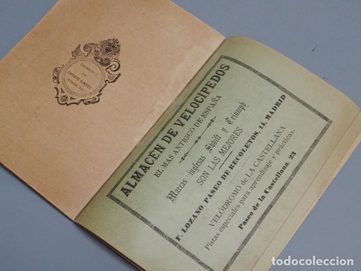 Libros antiguos: ESTATUTOS DE LA SOCIEDAD UNIÓN VELOCÉPICA ESPAÑOLA - FUNDADA EN 1895 - Foto 7 - 166256226