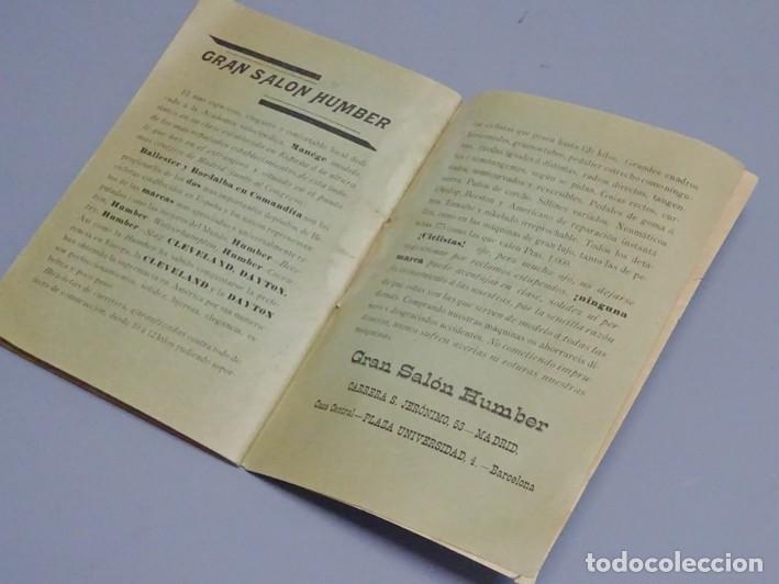 Libros antiguos: ESTATUTOS DE LA SOCIEDAD UNIÓN VELOCÉPICA ESPAÑOLA - FUNDADA EN 1895 - Foto 8 - 166256226