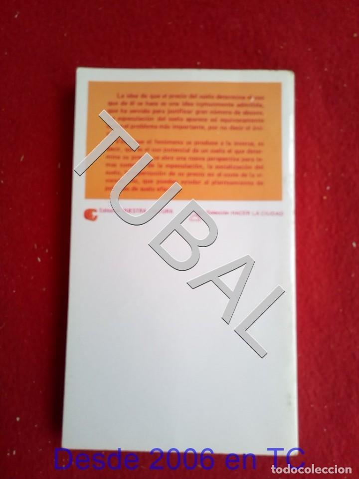 Libros antiguos: TUBAL ¿ESPECULACIÓN DEL SUELO? LIBRO - Foto 6 - 166308278