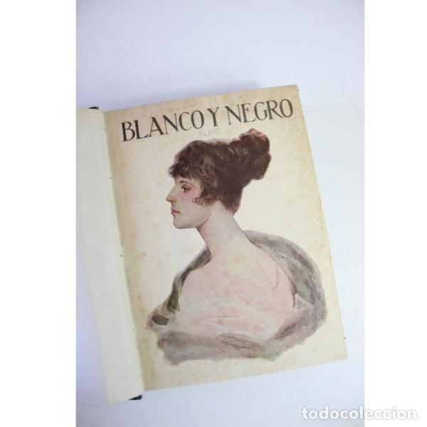 Libros antiguos: Dos tomos blanco y negro año 1918 - Foto 3 - 166323174