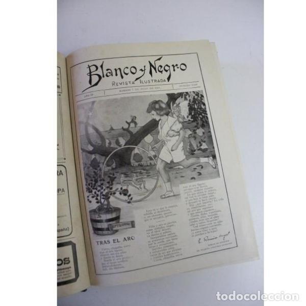 Libros antiguos: Dos tomos blanco y negro año 1918 - Foto 4 - 166323174