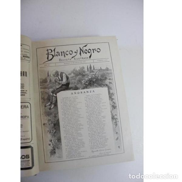 Libros antiguos: Dos tomos blanco y negro año 1918 - Foto 5 - 166323174