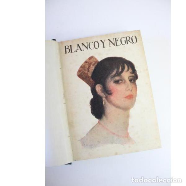 Libros antiguos: Dos tomos blanco y negro año 1918 - Foto 9 - 166323174