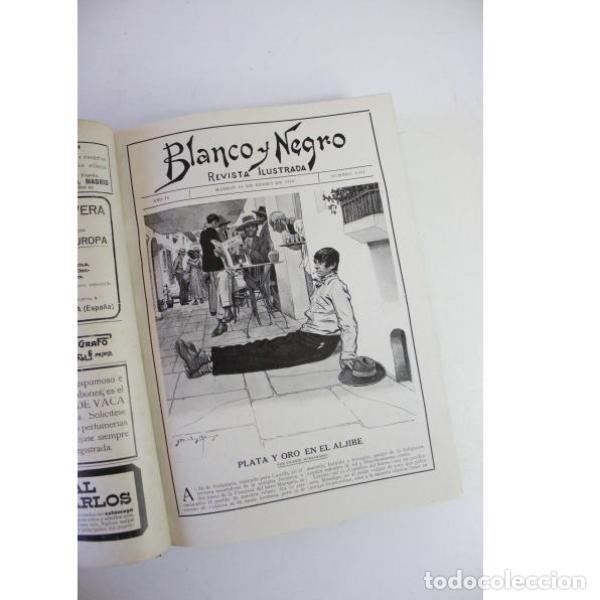 Libros antiguos: Dos tomos blanco y negro año 1918 - Foto 10 - 166323174