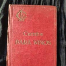 Libros antiguos: CUENTOS PARA NIÑOS.PADRE LUIS COLOMA.. Lote 166345326