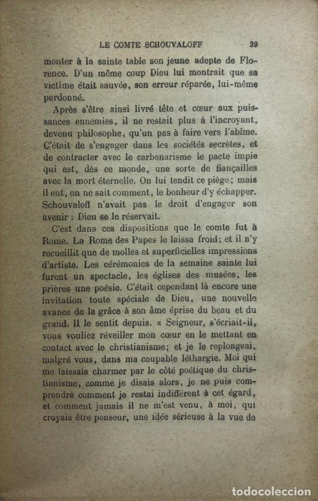 Libros antiguos: LA FOI ET SES VICTOIRES. BAUNARD. SEPTIME EDITION. PARIS, 1901. LIBRO EN FRANCES. 410 PAGINAS. - Foto 3 - 166367290