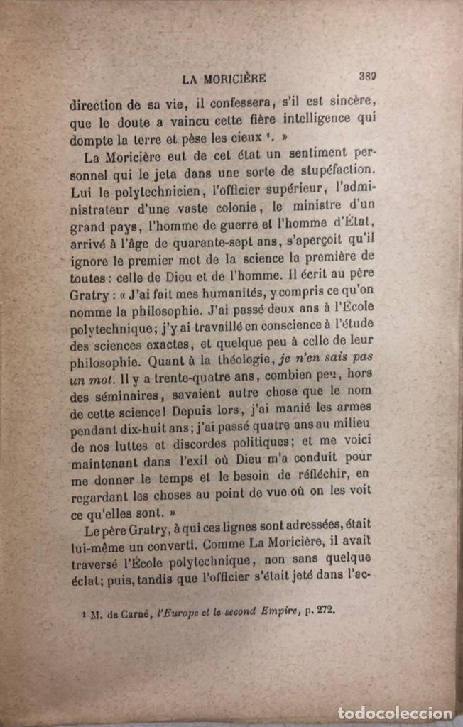 Libros antiguos: LA FOI ET SES VICTOIRES. BAUNARD. SEPTIME EDITION. PARIS, 1901. LIBRO EN FRANCES. 410 PAGINAS. - Foto 5 - 166367290
