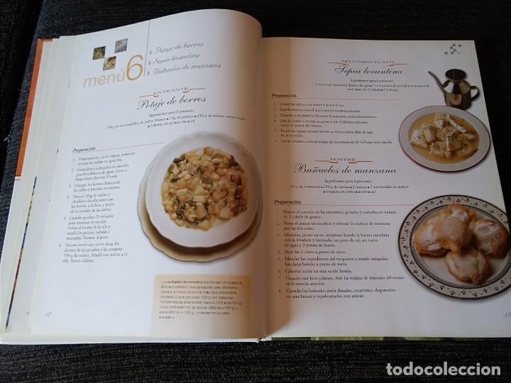 Libros antiguos: Libro de Receras ( un menú para cada día) buen estado - Foto 5 - 166397762