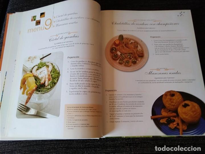 Libros antiguos: Libro de Receras ( un menú para cada día) buen estado - Foto 6 - 166397762
