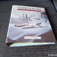 Libros antiguos: 34 FICHAS DE COCINEROS EN MALLORCA DE 48. Y 4 RECETAS POR CADA COCINERO. . Lote 166402546