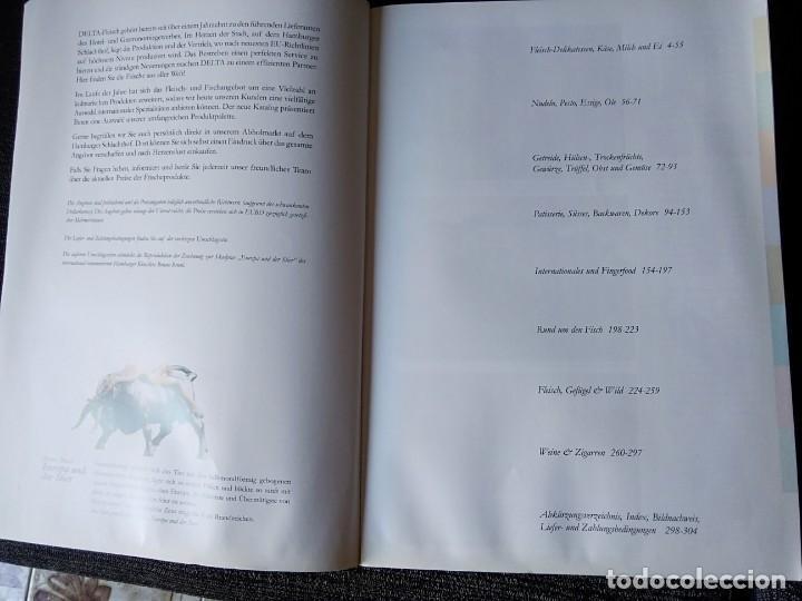 Libros antiguos: Libro en alemán de productos gastronómicos. 303 páginas. - Foto 3 - 166404458