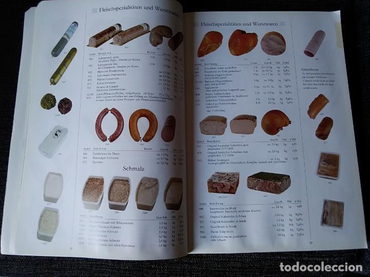 Libros antiguos: Libro en alemán de productos gastronómicos. 303 páginas. - Foto 4 - 166404458
