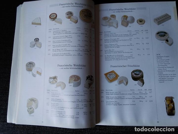Libros antiguos: Libro en alemán de productos gastronómicos. 303 páginas. - Foto 5 - 166404458