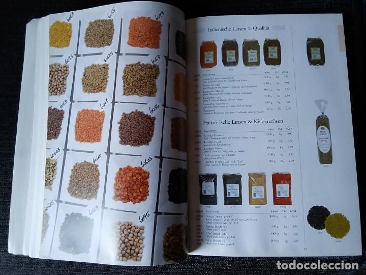 Libros antiguos: Libro en alemán de productos gastronómicos. 303 páginas. - Foto 6 - 166404458
