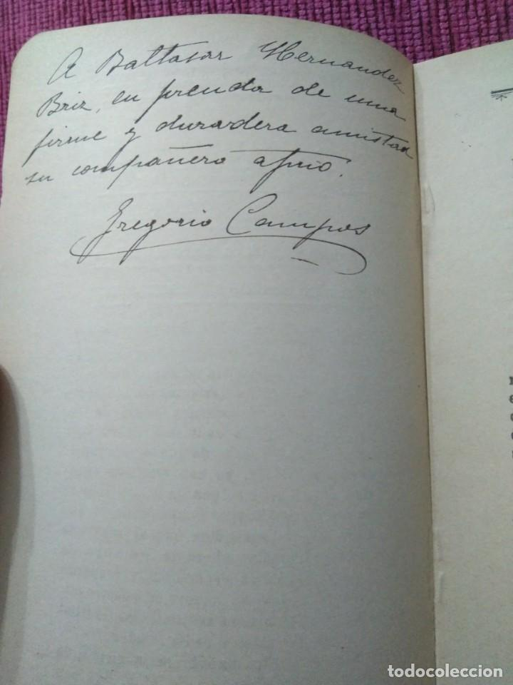 Libros antiguos: Firmado por su autor. La Inmaculada y el Arte. 1908. Gregorio Campos y Campo. - Foto 3 - 166462358