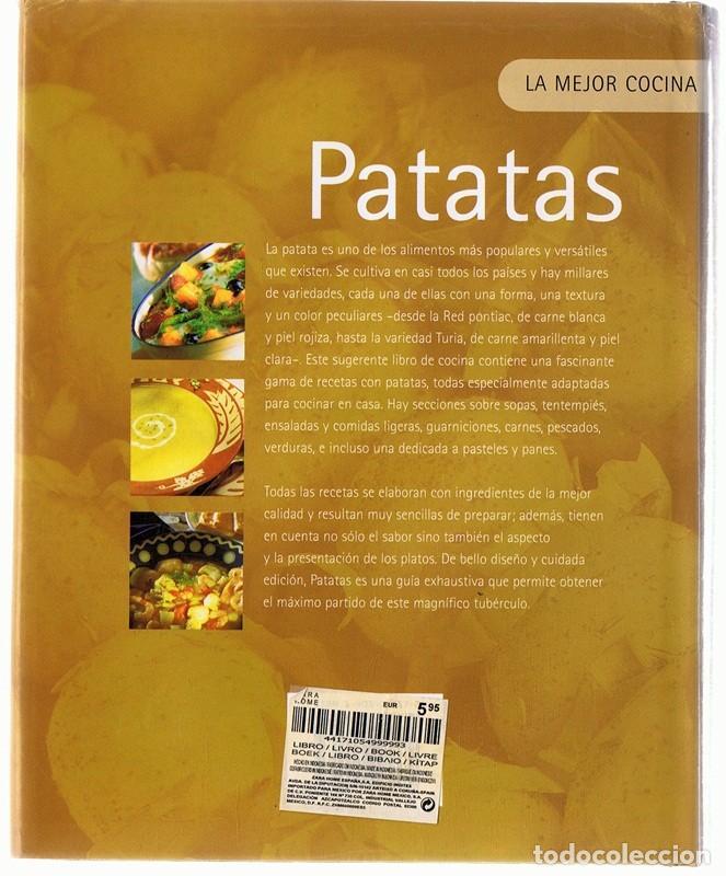 Libros antiguos: LA MEJOR COCINA PATATAS - Foto 2 - 166515730