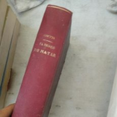 Libros antiguos: EL DESEO DE MATAR Y EL INSTINTO SEXUAL, W.E. COUTTS,. Lote 166526522
