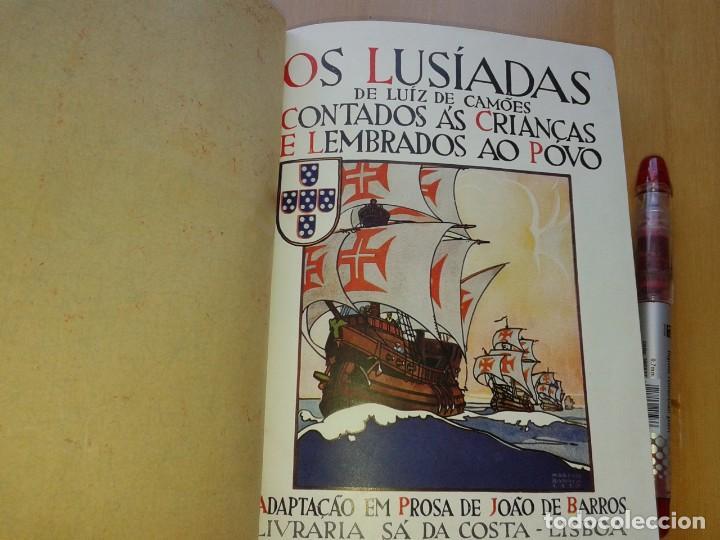 Libros antiguos: OS LUSIADAS DE LUIZ DE CAMOES, JOAO DE BARROS, 1931, 2ª EDIÇAO, EN PORTUGUES - Foto 2 - 166611302
