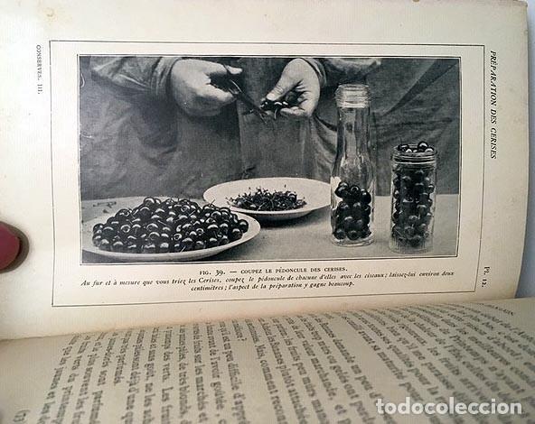 LES CONSERVES À LA MAISON. III- LES FRUITS. (RAYMOND. CONSERVAS DE FRUTAS. 1913 COMPOTAS, MERMELADAS (Libros Antiguos, Raros y Curiosos - Cocina y Gastronomía)