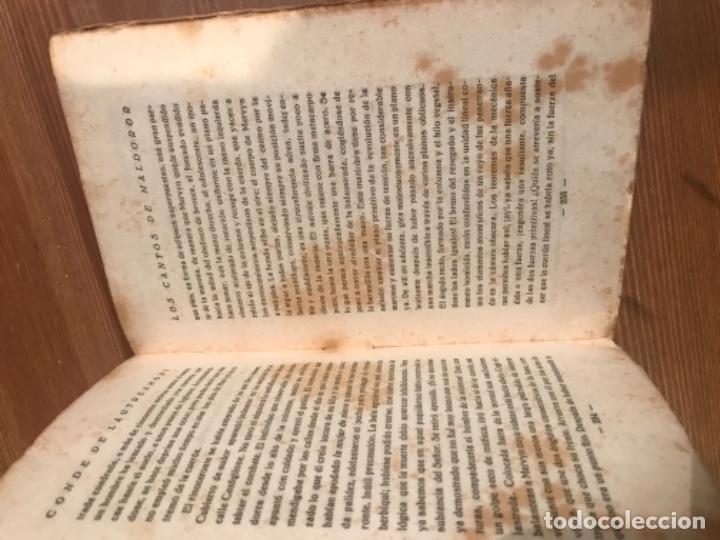 Libros antiguos: LOS CANTOS DE MALDOROR. CONDE DE LAUTREAMONT. TRADUCCION GOMEZ DE LA SERNA. - Foto 5 - 55365244