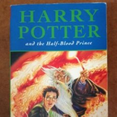 Libros antiguos: HAARY POTTER AND THE HALF-BLOOD PRINCE (J. K. ROWLING) BLOOMSBURY - EN INGLES - OFI15B. Lote 166745258