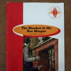 Libros antiguos: THE MURDERS IN THE RUE MORGUE AND OTHER STORIES - EN INGLES - OFI15B. Lote 166746274