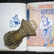 Libros antiguos: NUEVAS BATURRADAS - AGUDEZAS Y CHISTES BATURROS - CHISTES OLOROSOS. Lote 166828550