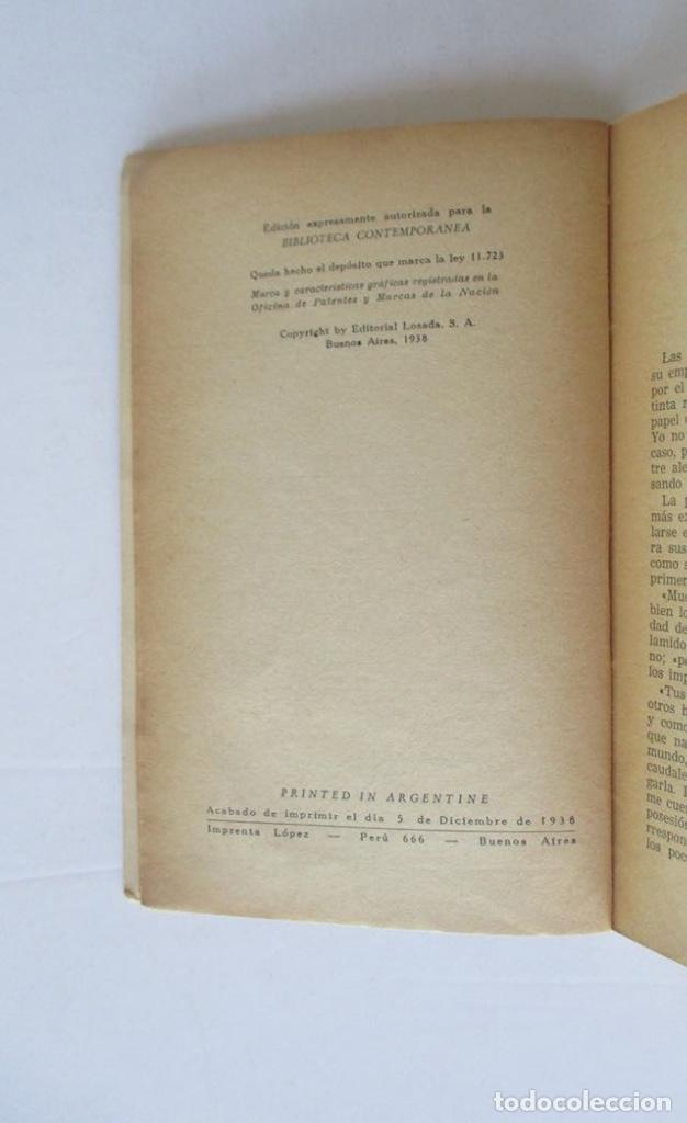Libros antiguos: PEÑAS ARRIBA - 2 TOMOS - JOSE MARIA DE PEREDA - EDITORIAL LOSADA - Foto 4 - 166915484