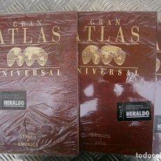 Libros antiguos: GRAN ATLAS UNIVERSAL 3 TOMOS. Lote 167018464