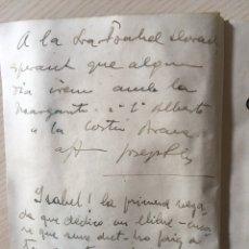 Livres anciens: JOSE PLA - DEDICATORIA Y FIRMA - COSTA BRAVA - 1941 -. Lote 167031601