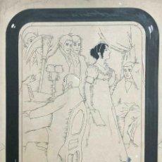 Libros antiguos: VÍCTOR VALDIVIA MUJERES ARGENTINAS. TINTA SOBRE PAPEL. MIDE: 36 X 30 CM.. Lote 167051868