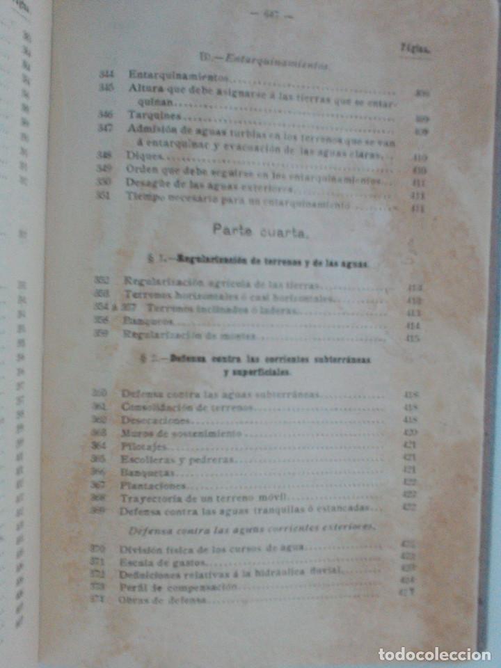 Libros antiguos: ZENI Y PERDONI. MANUAL DE HIDRAULICA APLICADA. MANUALES ROMO. TRAD. ANTONIO ALVAREZ Y REDONDO. 1914 - Foto 21 - 167056256