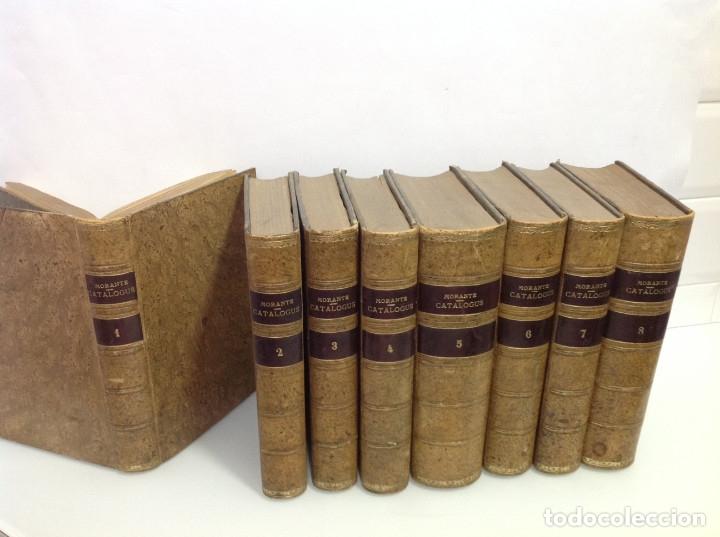 Libros antiguos: GOMEZ DE LA CORTINA (JOAQUIN) CATALOGUS LIBRORUM QUI IN AEDIBUS SUIS EXISTANT 1854-1862 8 tomos - Foto 4 - 167083460