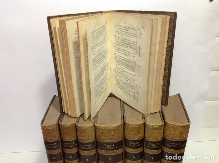 Libros antiguos: GOMEZ DE LA CORTINA (JOAQUIN) CATALOGUS LIBRORUM QUI IN AEDIBUS SUIS EXISTANT 1854-1862 8 tomos - Foto 6 - 167083460