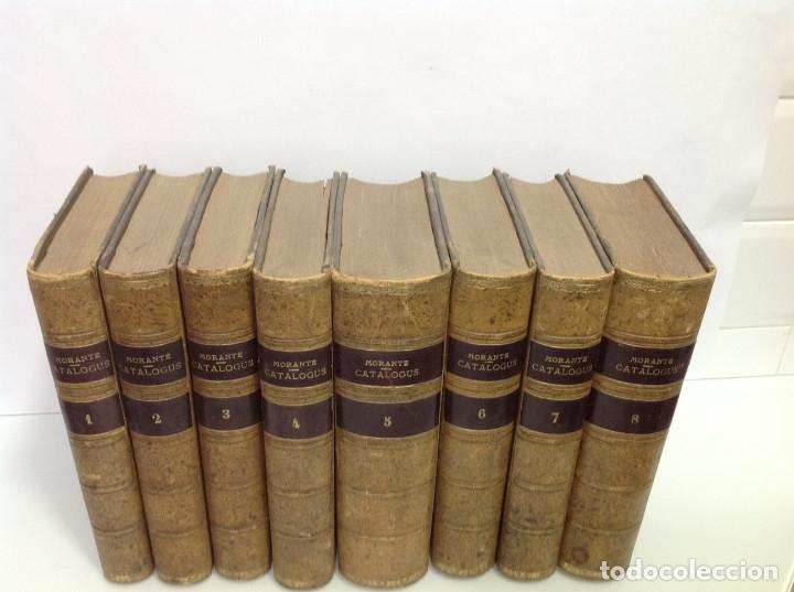 Libros antiguos: GOMEZ DE LA CORTINA (JOAQUIN) CATALOGUS LIBRORUM QUI IN AEDIBUS SUIS EXISTANT 1854-1862 8 tomos - Foto 2 - 167083460
